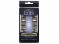 Tips para uña efecto metalico
