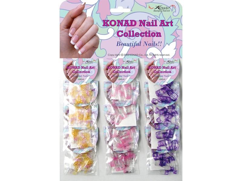 Colección uñas postizas 3 variedades-CH1 Konad