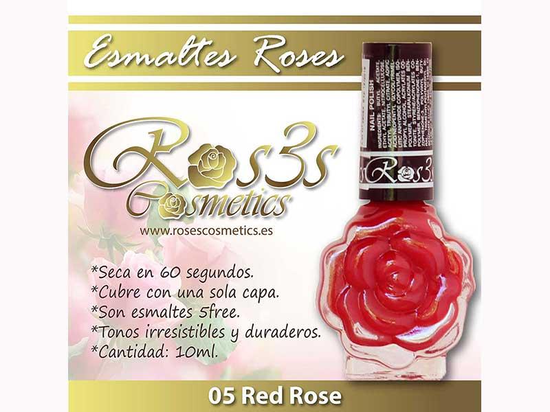 Esmalte Roses : 05 RED ROSE