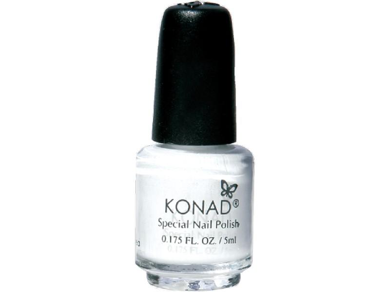Esmalte especial pequeño Konad (5ml) P01 WHITE