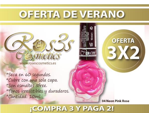 OFERTA 3x2 Esmaltes Ros3s