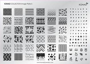 Placa de diseños Colección 5