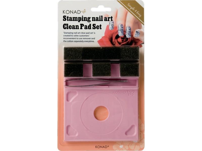 Soporte para placa y base de limpieza