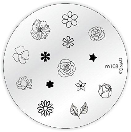 Placa de diseños KONAD. m108