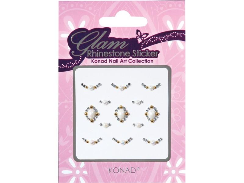 Glam sticker brillantes para uñas KNSS-08