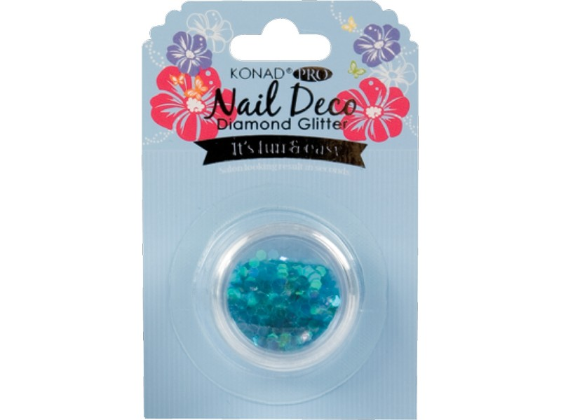 Konad Pro Nail Deco Diamond Glitter Blue