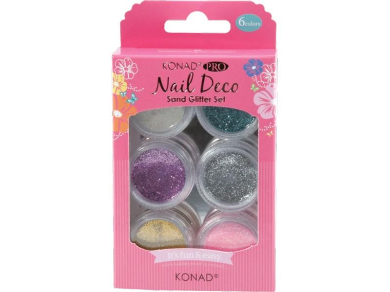 Pro Nail Deco Sand Glitter Set