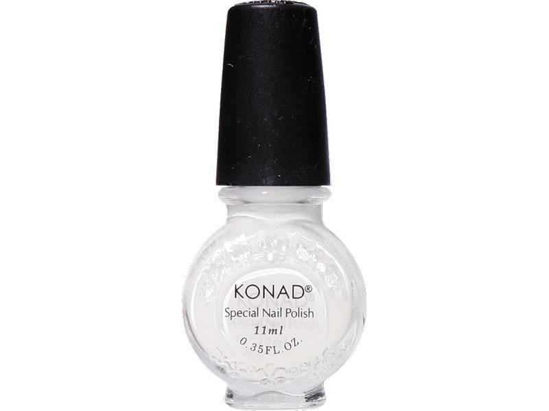 Esmalte especial grande Konad (11ml). G01 WHITE