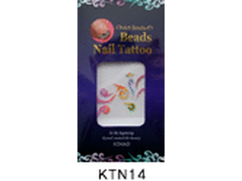 Tatuaje relieve uñas-KTN14