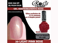 20-Light Pink Rose 11 ml