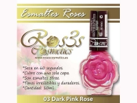 Esmalte Roses: 03 DARK PINK ROSE