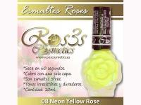 Esmalte Roses: 08 NEON YELLOW ROSE