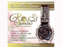 Esmalte Roses: 09 BLACK ROSE