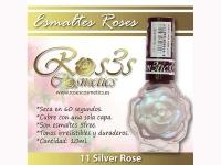 Esmalte Roses: 11 SILVER ROSE