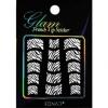 Glam sticker manicura francesa. KGS07