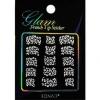 Glam sticker manicura francesa. KGS08