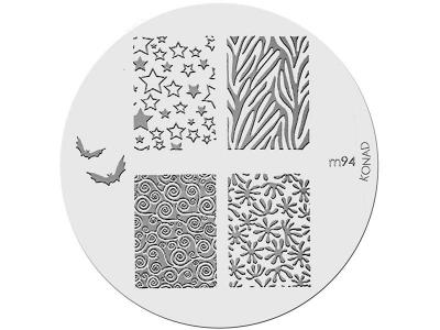 Placa de Diseños KONAD. m94