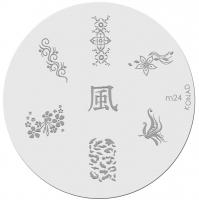 Placa de diseños KONAD. m24