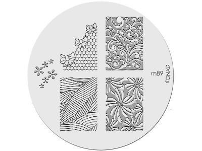 Placa de diseños KONAD. m89