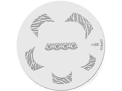Placa de diseños KONAD. m88