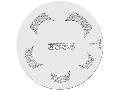 Placa de diseños KONAD. m87