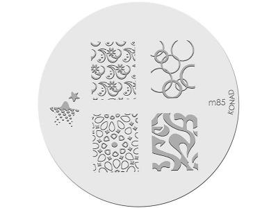 Placa de diseños KONAD. m85