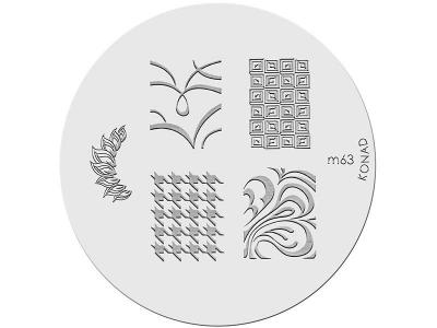 Placa de diseños KONAD. m63