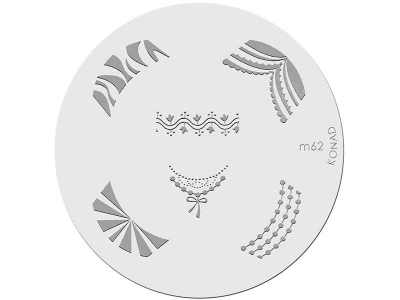 Placa de diseños KONAD. m62
