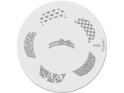 Placa de diseños KONAD. m56