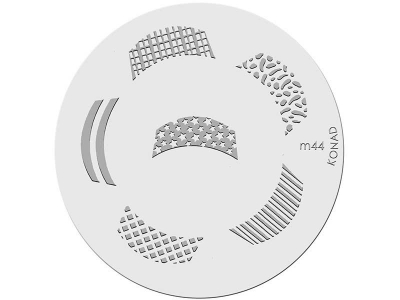 Placa de diseños KONAD. m44