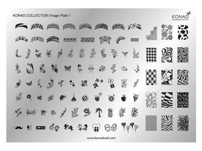 Placa de diseños Colección 1