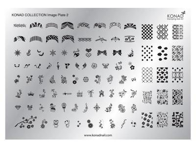 Placa de diseños Colección 2