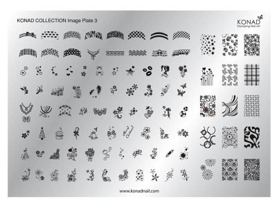 Placa de diseños Colección 3