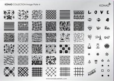 Placa de diseños Colección 4