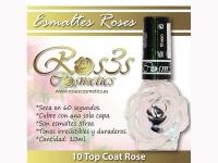 Top Coat de uñas- Roses Cosmetics