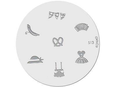 Placa de diseños KONAD. s13