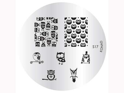 _Placa de diseños KONAD. s17