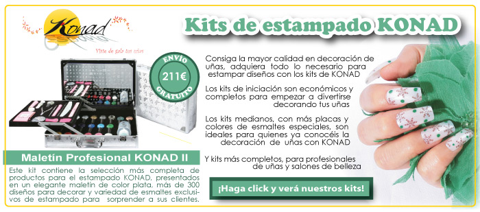 Kits de estampado Konad
